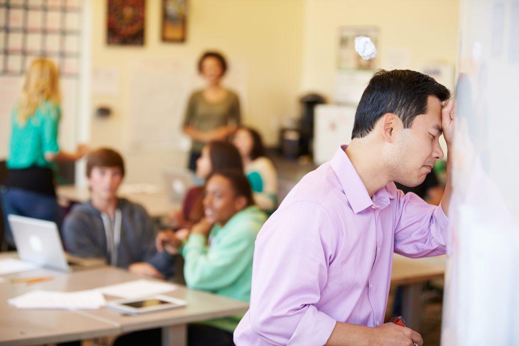 Teacher stress - high school teacher